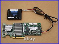 Lenovo ServeRaid M5210 12Gb/s SAS/SATA PCIe RAID with2Gb Flash, BBU & Pwr Cable