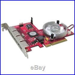 Lindy 4 Port SATA II Card, RAID 5 Function, PCI-Express x8