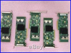 Lot Of 5 LSI SAS9211-8i 8-PORT SAS/SATA Raid LP Pcie