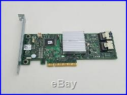 Lot of 10 Dell HV52W PERC H310 PCI Express x8 SAS 2/SATA III RAID Card