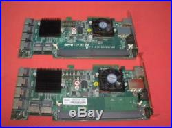 Lot of 2 Areca ARC-1680IX 12-Port PCIe X8 SATA SAS RAID Controller
