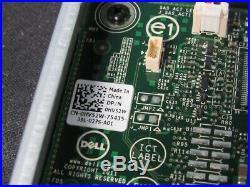 Lot of 7 Dell HV52W PERC H310 PCIe x8 SAS SATA 6Gb RAID Card with Cable