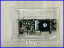 Low bracket Areca ARC-1882I ARC18821 PCIe SAS/SATA RAID card, 8 internal ports