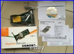 Lsi Megaraid 9261-8I 8-Port Pci-E 6Gb/S Sata/Sas Raid Controller X8 2.0 Host ry