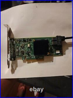 MegaRAID SAS 9341-8i 12Gb/s PCIe SATA/SAS controller SW RAID 0. 1.5.10
