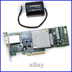 Microsemi Adaptec ASR-8885 12Gb/s 16-port PCIe SAS/SATA RAID Adapter with Battery