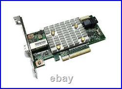 Microsemi SmartHBA 2100-4i4e SATA / SAS RAID HBA Controller 12G PCIe x8 3.0