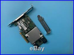 NEC LSI 9362-8i PCI-E 3.0 x8 SATA/SAS 8-Port 12Gb/s RAID Controller = 9361-8i 1G