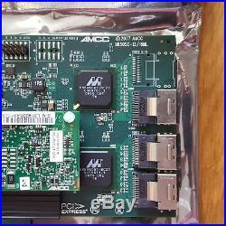 NEU AMCC 3WARE 9650SE-12ML 12-PORT+BBU PCIe x8 SATA RAID CONTROLLER