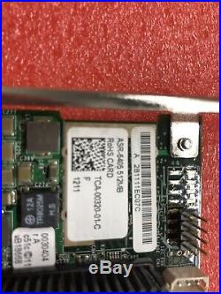 Adaptec ASR-6405 512MB RAID Controller Card PCIe x8 SAS 2.0 Raid Controller