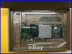 New ASR-8805 Adaptec 12 Gb/s SAS/SATA/SSD RAID Controller Card 2277500-R