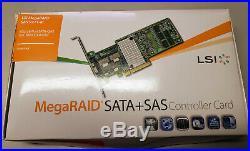 New LSI MegaRAID PCI-e 3.0 x8 1GB SATA SAS RAID Controller SAS 9271-8i US seller