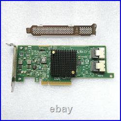 New LSI MegaRAID SAS2308-8I 9217-8I 8-Port External 6Gb/s SAS/SATA RAID Card