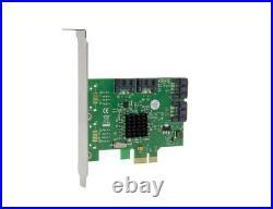 PCI-e 4 Ports 6G SATA III 3.0 controller card Marvell 88SE9215 non raid