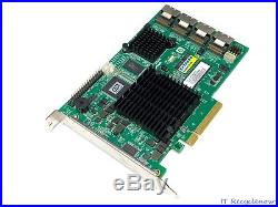 Promise SuperTrak EX16650 16-Ports SAS SATA 3Gb/s PCIe x8 512MB RAID Controller