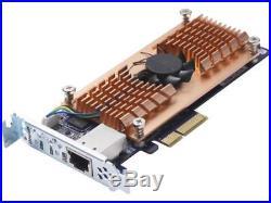 Qnap QM2-2S10G1T 10Gbe Dual m. 2 RAID0/1 SATA Card PCIe