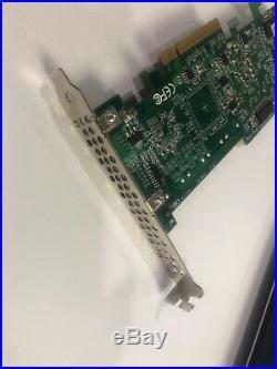Qty 7 Areca RAID 6/JBOD 8 Port SATA II RAID Adapter Card PCIe 71-122001-0012