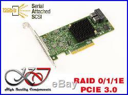 Regler PCIe SATA und SAS 12GB 8 Anschlüsse MegaRAID 9311-8i Raid 0 1 1E 10
