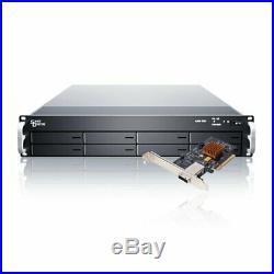 SANS DIGITAL ELITERAID ER208PS+BHP 2U 8 Bay 6G SATA RAID 5/50/6 PCIe 2.0 x8 Rack