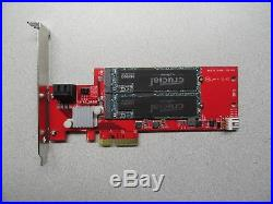 STARTECH PCIe x4 2TB RAID 0/1 2x 1TB CRUCIAL MX500 M. 2 SATA SSD
