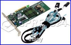 SUPERMICRO AOC-USASLP-L8i RAID PCIe +8x SATA CABLE
