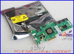 Sas + SATA Lsi Sas3041e-fsc 4-port Raid Controller Pci-e Pci Express New Neu