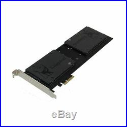 Sedna PCIe 4X Quad 2.5 Inch SATA SSD RAID Controller Card (RAID 0/1/10) M