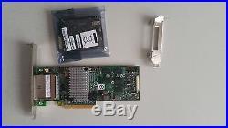 ServeRAID M5025, SAS/SATA Controller, 512 MB Cache, PCI Express 2.0 x8, RAID 5/6