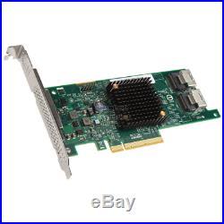 SilverStone SST-ECS04 SST-ECS04 RAID-Contr. PCIe x8 für 8x SAS/SATA 9217 Raid