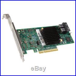 SilverStone SST-ECS05 SST-ECS05 RAID-Contr. PCIe x8 für 8x SAS/SATA 9311 ATA