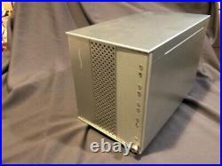 Sonnet Fusion D400 RAID Array 4 SATA Drive enclosure withPCIE card & extra sleds
