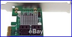 StarTech. Com 4 Port PCI Express 2.0 SATA III 6Gbps RAID Controller Card With