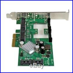 StarTech Controller Card PEXMSATA3422 2Port pci-e SATA 6Gbps RAID Controller