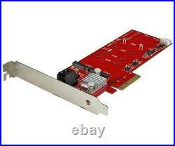 Startech 2x M. 2 Ngff Ssd Raid Controller Card With 2x Sata Iii Ports Pci-ex