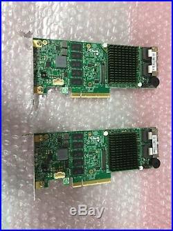 Supermicro SUPER AOC-S2208L-H8IR 8 Port SATA SAS 6Gb/s PCI-E RAID CONTROLLER LOW