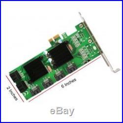 Syba PCI-Express 2.0 x1, 8-Port Internal SATA 6G Non-Raid Card