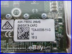 TB Adaptec ASR-71605E SAS/SATA RAID Controller Card 6Gb/s PCIe x8 2274500-R