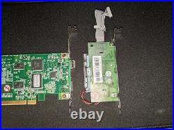USED Areca ARC-1883LP PCI-E 3.0 x8 12Gb/s SAS/SATA RAID + Battery Module