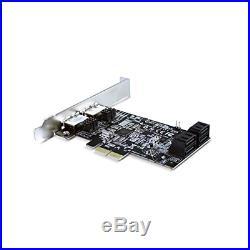 Vantec 4-Channel 6-Port SATA 6Gb/s PCIe RAID Host Card with HyperDuo Technology